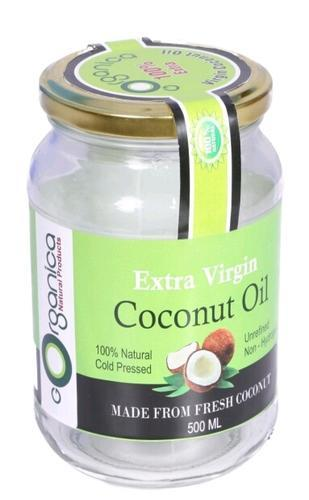 Extra virgin cold pressed coconut oil