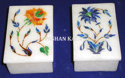 Marble Inlay Small Box