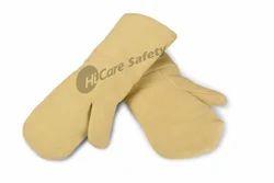 Half Fingered Kevlar Protection Glove