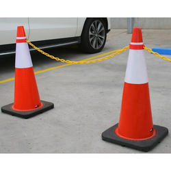 Traffic Cones with Chains
