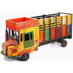 Decorative Wooden Handicraft Truck