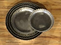 Round Beaded Serving Trays