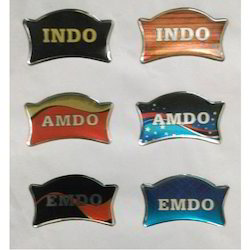 Resin Dome Vinyl Stickers