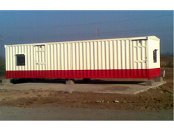 Prefabricated Bunkhouse For Railway Project
