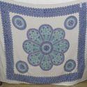 Hand Printed Cotton Bedspread