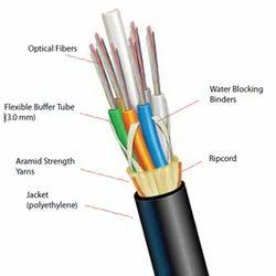 Optical Fiber Cable 4 Core FRP