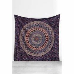 Hippy Round Tapestry