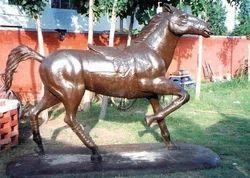 Fibre Horse Statue