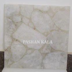 Natural White Quartz Tile