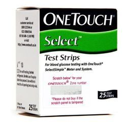 One Touch Select Test Strips