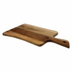 Wooden Chopping Board & Wooden Serving Platter