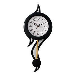 Curly Look Pendulum Wall Hanging Clock Decorative Gift Item