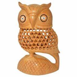 Wooden Decorative Undercut Owl