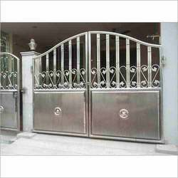 Stainless Steel Main Gates Stainless Steel Black Gate Manufacturer