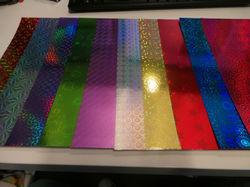 Color Hologram Paper