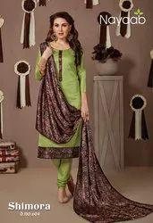 Nayaab Semi Stitched Suit