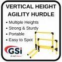 Vertical Height Adjustable Hurdle
