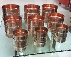 Copper Rice Grain Measuring Cup
