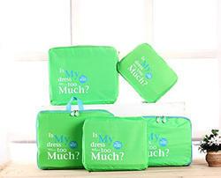 Green Luggage Organizer