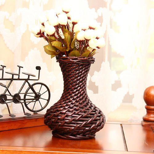 Cane Flower Vase