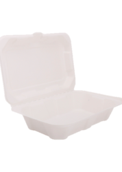 9 X 6 Biodegradable Clampshell Box