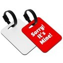 MDF Personalized Luggage Tag