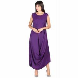 Ladies Western Maxi Dress