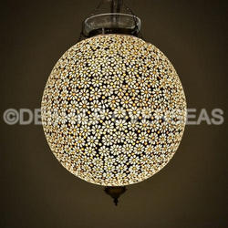 Antique Design Mosaic Chandelier
