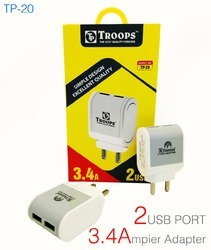 3.4 AMP 2 USB Adapter