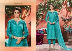 Pure Chanderi Embroidered Eleanour Suit