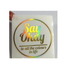 Transparent Adhesive Sticker Labels