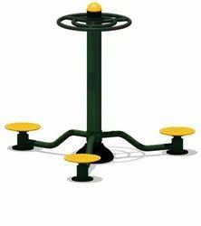 Waist Twister Triple Outdoor Gym