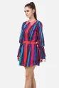 Ladies Western Polo Shirt Dress