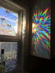 Window Holographic Film for Decoration