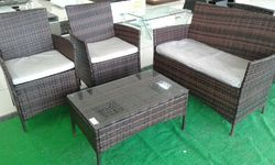 White Sofa Set