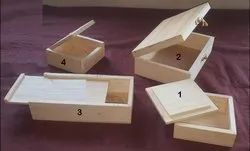 Wooden Boxes With Different Covers,Lids