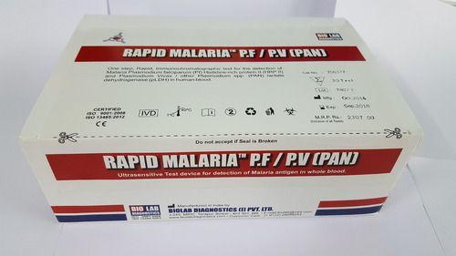 Rapid Malaria Pf/Pv Antigen Card Test - IS5372