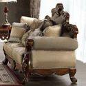 Vila Wooden Sofa Set