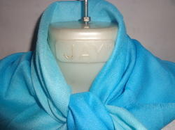 Cashmere Fine Wool Ombre Dyed Square Scarves