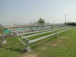 Galvanised Solar Panel Structure