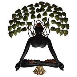 Iron Tree Buddha Hanging