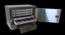 Stainless Steel Slide Cabinet, l (Cap. 1000 slides)