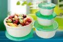 Round Plastic Food Container Set