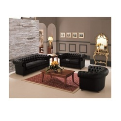 Black Chesterfield Sofa