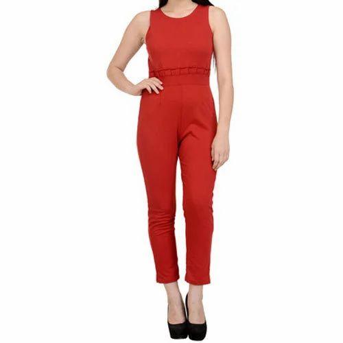 2cdd564ba332 Ladies Jumpsuit - Fancy Ladies Jumpsuit Manufacturer from Gurgaon