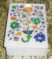 Marble Inlay Work Box