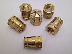 Brass Spreading Dowel Insert