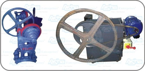 Electric & Manual Hand Hoist for Ice Plants