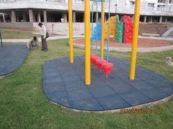 Children Play Area Rubberised Flooring