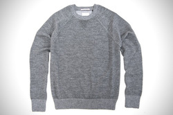Mens Round Neck Woollen Sweater